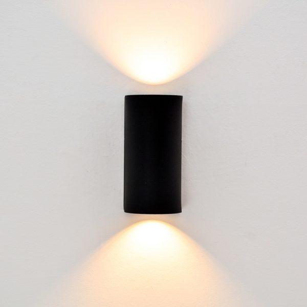 Ledpro Pixel 10*10 2 Lights Black Wall Lamp