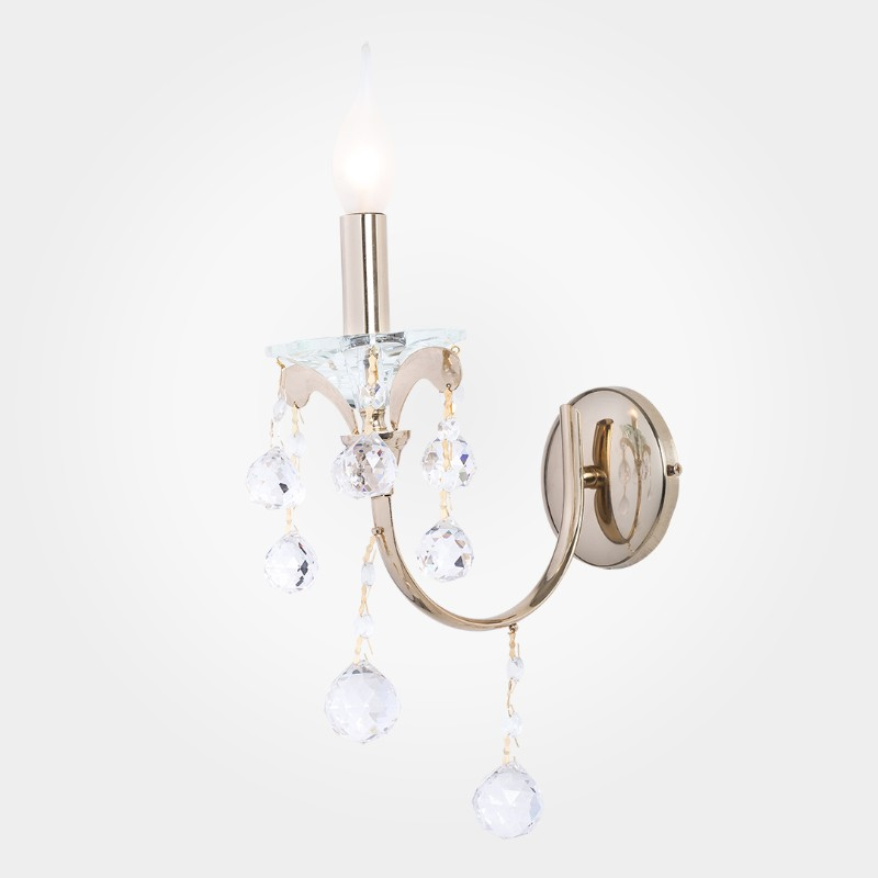 Tirana Gold 1 Light Wall Lamp